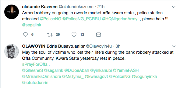 Why Did The Nigerian Police Force Not Send SARS Operatives To The One-Hour Long Offa Robbery? 2