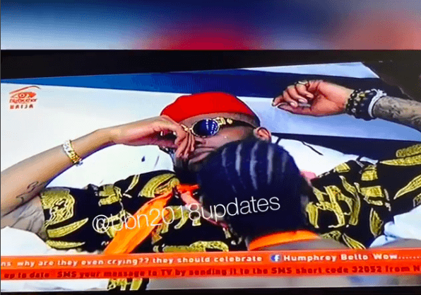 #BBNaija: Teddy A Breaks Down In Tears After Bam Bam's Eviction (Video) 1
