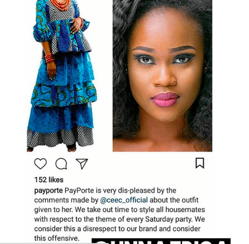 Cee-C's Dress Was Truly Ugly, Payporte Should Have Kept Quiet - Kemi Olunloyo 2