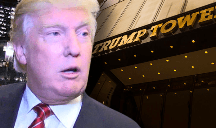 Breaking News! Fire Engulfs Trump Tower In NYC 1