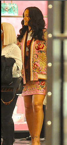 Style Stalking: Rihanna Steps Out In Quirky Floral Outfit (Photos) 2
