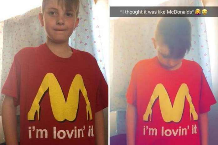 Mum Apologises After Sending Son To School In Highly Sexual T-shirt 1