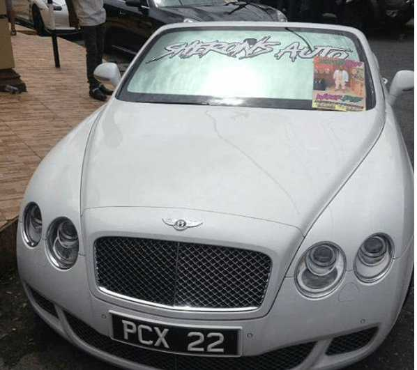 Bling Bling Burial! Shot Millionaire Car Dealer Buried In Gold Casket, Jewellery, Moet Champagne And Timberland Boots 4