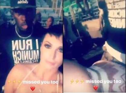 Usain Bolt Was Spotted In An Extremely Intimate Position With An Instagram Model In Public 1