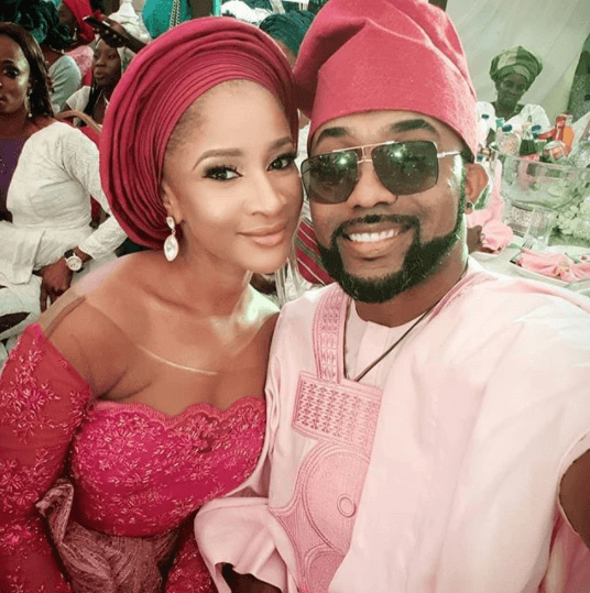 See How Banky W And Adesua Etomi Showed Up For Gabriel Afolayan's Wedding 3
