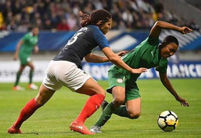 Asisat Oshoala Reacts To The Super Falcons 8-0 Loss to France 3