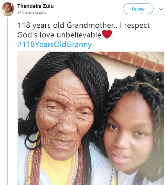 See The Photo Of A 118-Year Old Great-Grandma And Her Great-Grandchild That Has Gone Viral 2