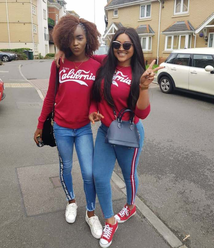 Twinning! Mercy Aigbe And Daughter Are Flawless In Matching Outfits 1