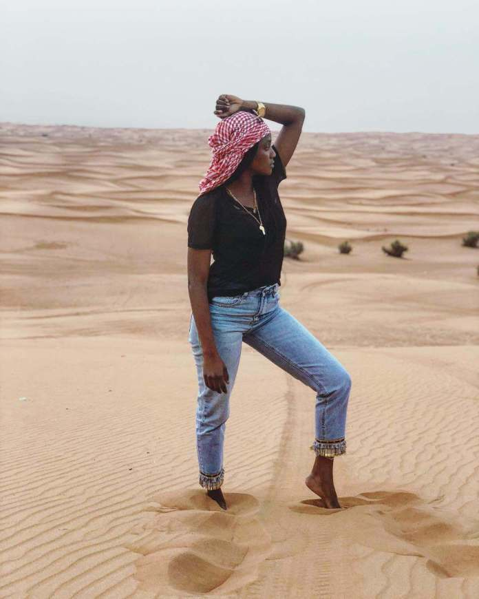 Travel: Simi Having The Time Of Her Life In Dubai 2