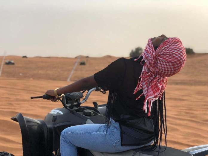 Travel: Simi Having The Time Of Her Life In Dubai 1