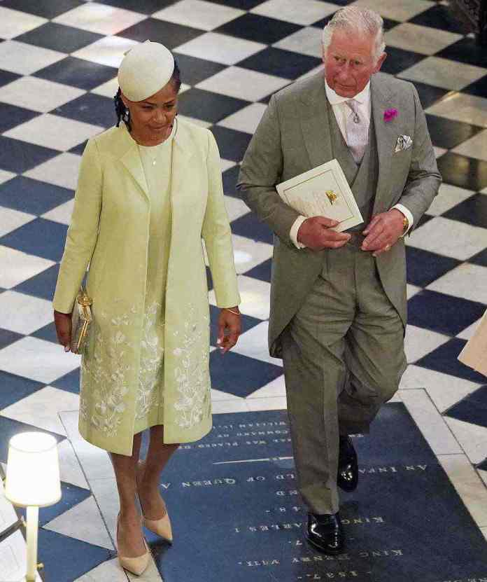 Style Stalking: Classy Doria Ragland Is The Elegant Mother Of The Bride At The Royal Wedding 1