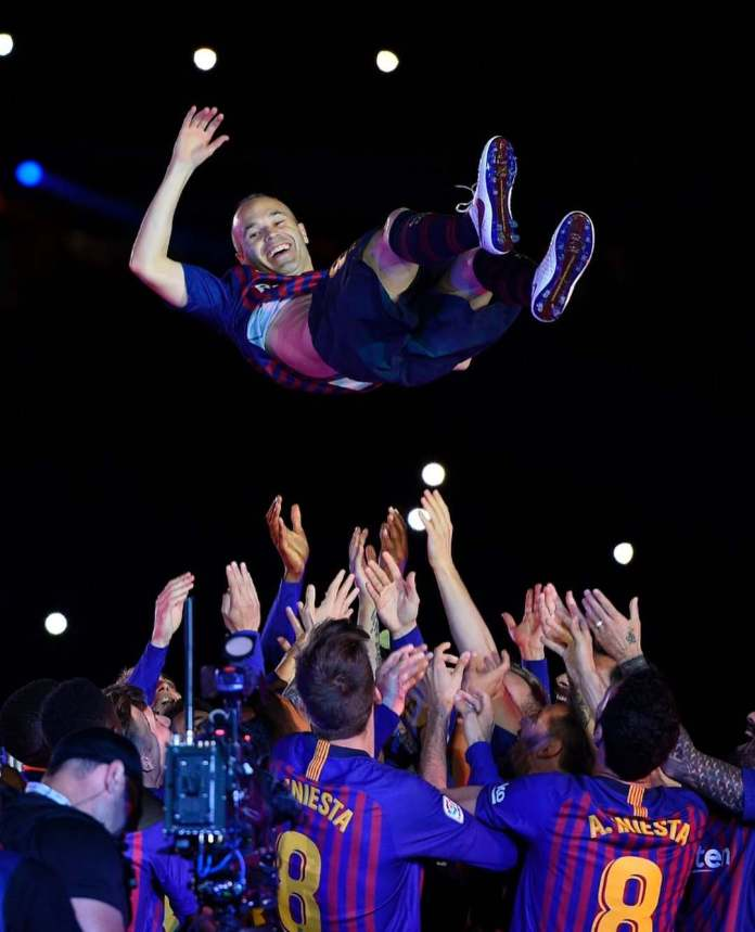 #InfinitIniesta: A Difficult Day But Wonderful 22 Years - Andres Iniesta Admits After Last Game In Barcelona Jersey 1