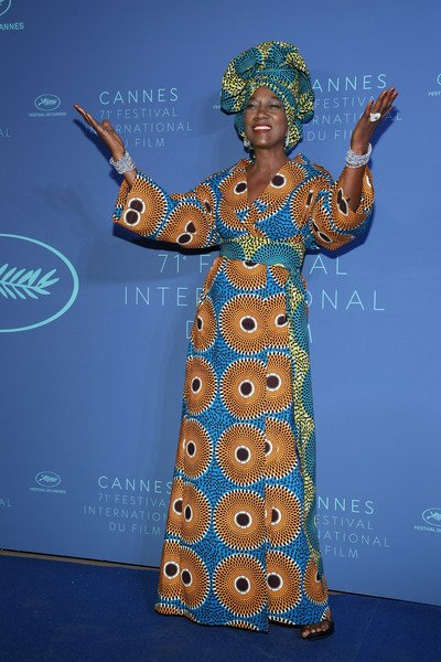 Ankara Style: Khadja Nin Slays In African Prints At Cannes Film Festival 2