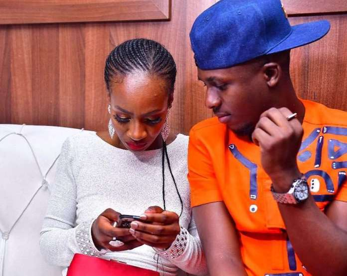 #BBNaija: See How Lolu And Anto Shares First Public Kiss 2