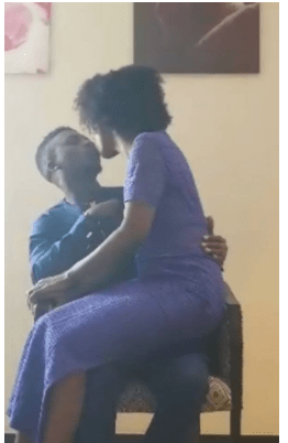#BBNaija: See How Lolu And Anto Shares First Public Kiss 3