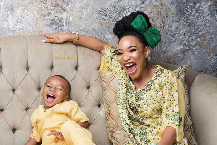 Wow! Tonto Dikeh Dazzles In Nothing But A Bathrobe 2