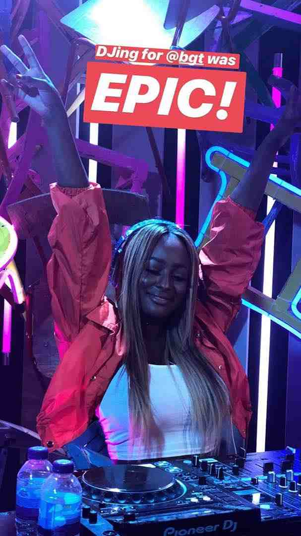 Naija To The World! DJ Cuppy Wows Her Audience At Britain's Got