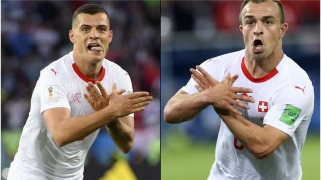Double Eagle! This Is Why Serbs Aren't Happy With Granit Xhaka And Xherdan Shaqiri 1