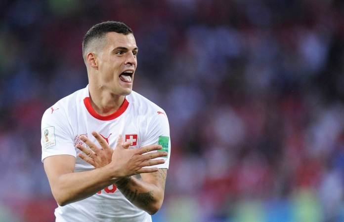 Double Eagle! This Is Why Serbs Aren't Happy With Granit Xhaka And Xherdan Shaqiri 3