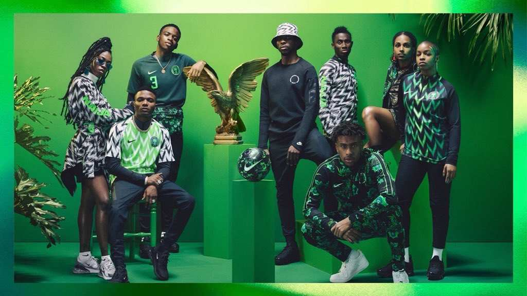 81c3537cf GQ Ranks Super Eagles Jersey As The Best In The World