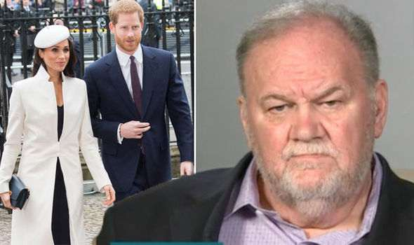 Meghan Markle 'Is Planning To Fly To America And Reunite With Her Estranged Father Thomas In Secret Within Weeks'  3