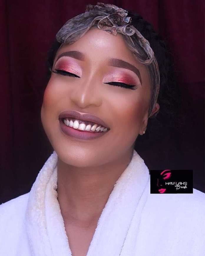 Wow! Tonto Dikeh Dazzles In Nothing But A Bathrobe 1