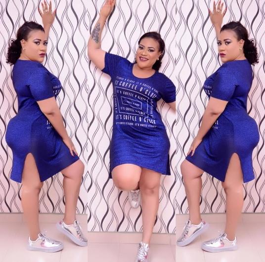 Curvy Actress Nkechi Blessing Blows Hot, Warns Fake Gram Users
