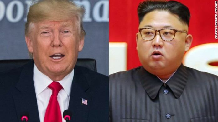 "Trump Set to Visit Kim In Pyongyang As He Says World Evaded ""Nuclear Catastrophe"" 1"