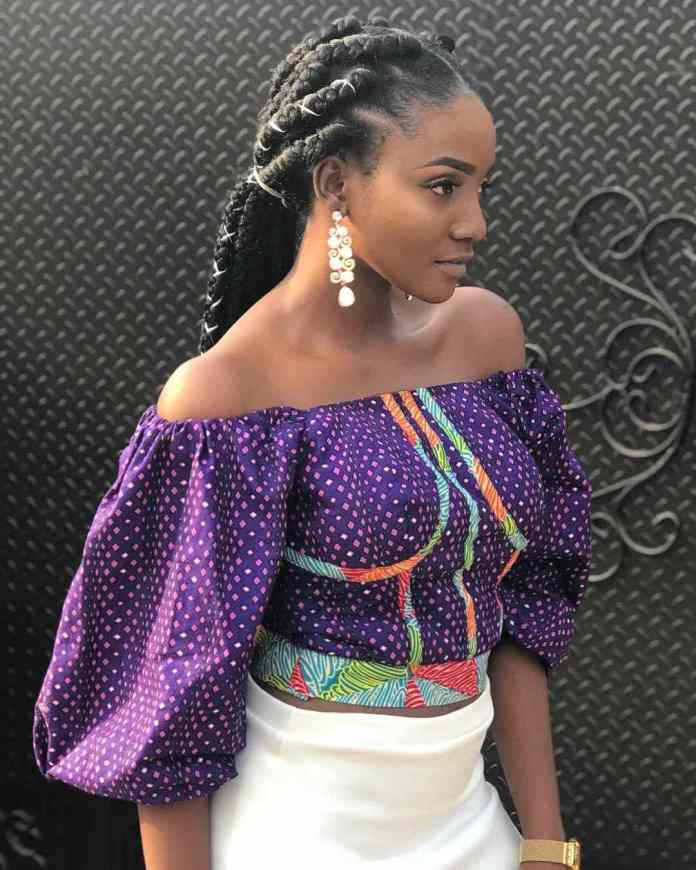 Ankara Style: Simi Rocks The African Print Effortlessly 1