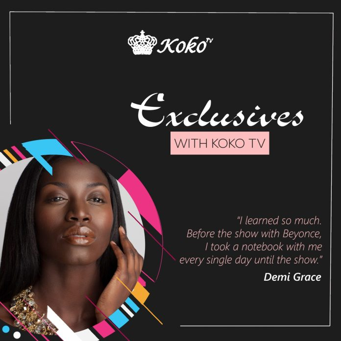 """Exclusive: Working With Beyonce Was Life Changing - Demi Grace Opens Up About Her New Single """"Come Closer"""", Wizkid And More In New Interview 1"""
