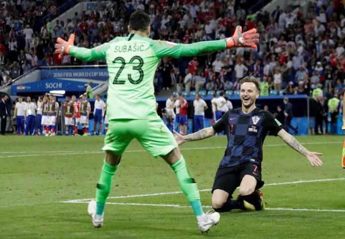 Russia 2 Croatia 2 (3-4 Pens): Croatia Beat Hosts On Penalties...To Face England In Semi-final 4