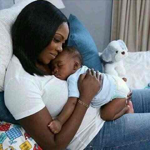 """My Reason To Keep Going"", Tiwa Savage Celebrates Son, Jamil, At 6"