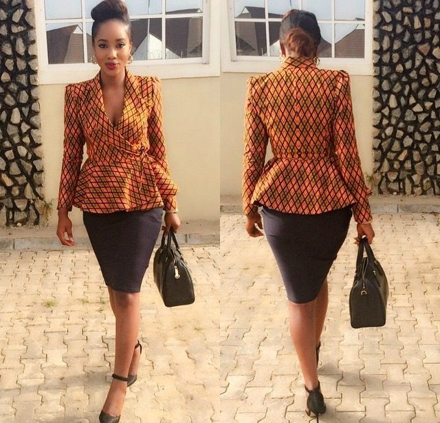 Ankara Style: Express Your Class And Elegance In Corporate Wears 6