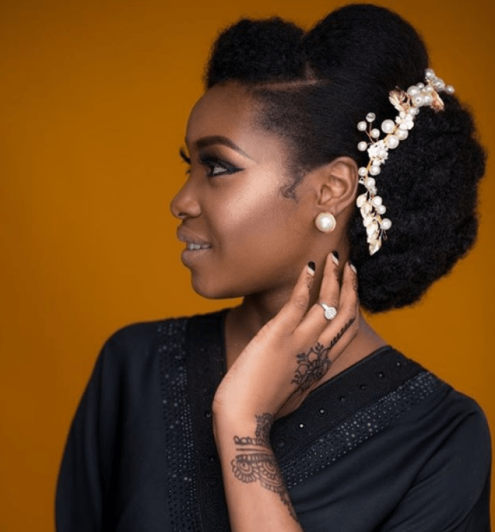 Weddings 5 Stunning Hairstyles For Natural Hair Brides