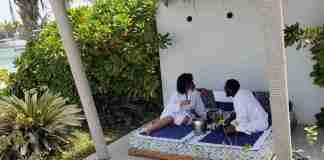 D'Banj and wife vacation koko tv ng