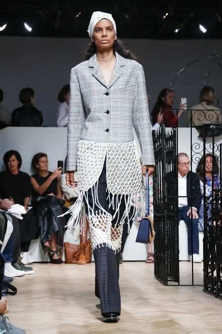 J.W Anderson Men & Women Spring Summer 2019 Collection At LFW 3