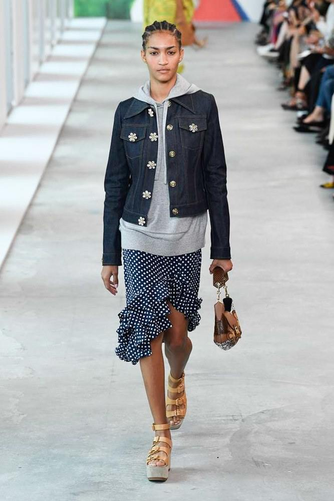 Michael Kors Redefines Spring At The NYFW S/S 2019 Show 25