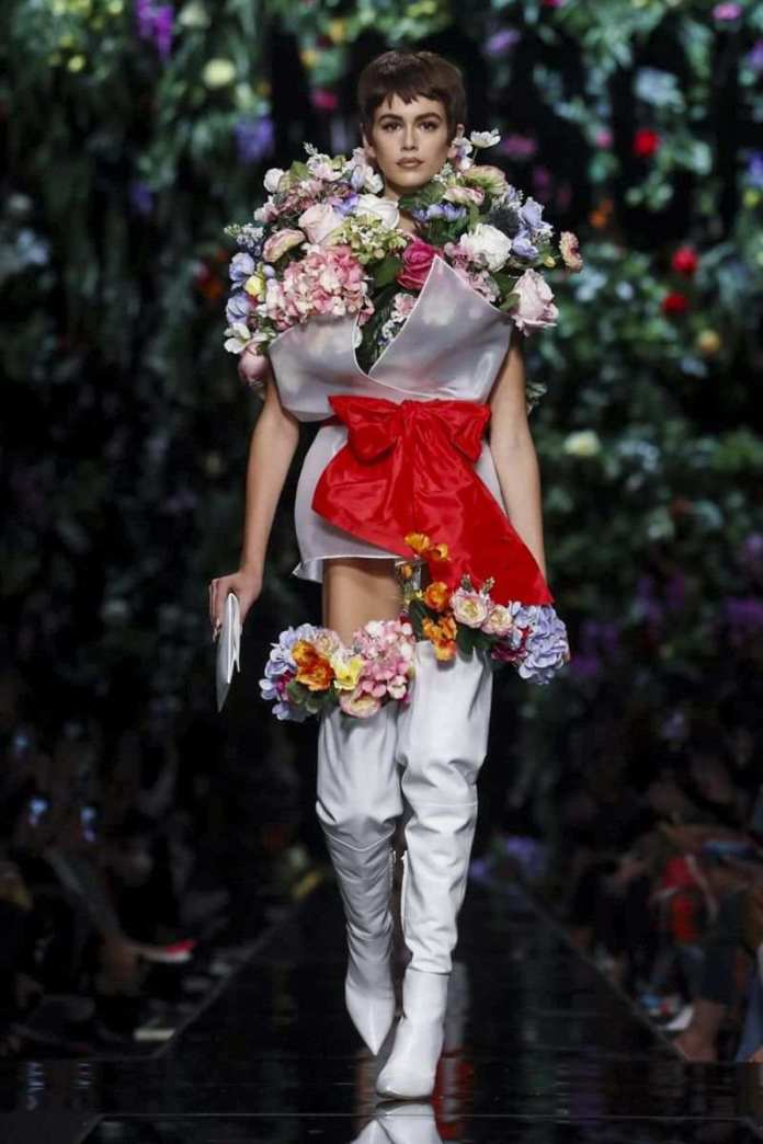 Moschino Ready To Wear Spring/Summer 2018 At The Milan Fashion Week 10