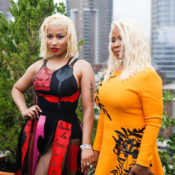 Nicki Minaj And Her Mom Look Absolutely Stunning As They Attend Oscar De La Ranta Show 2