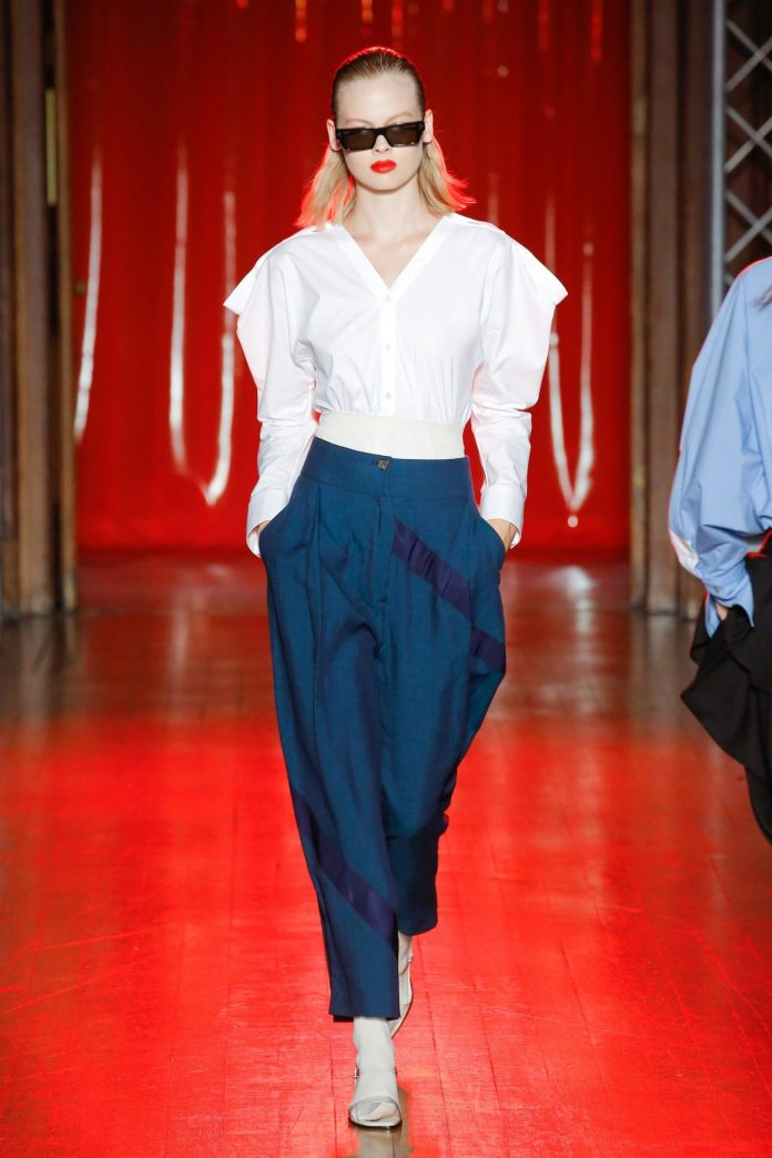 Palmer Harding Spring Summer 2019 Collection At The LFW 13