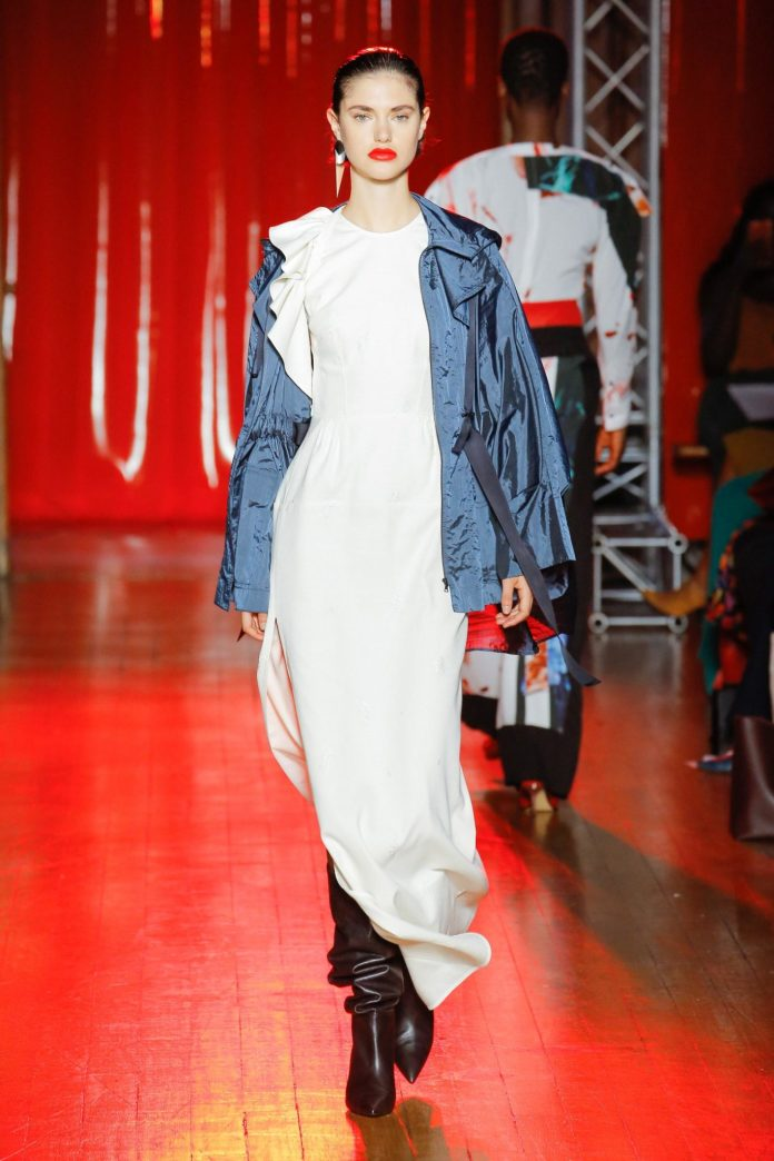 Palmer Harding Spring Summer 2019 Collection At The LFW 15