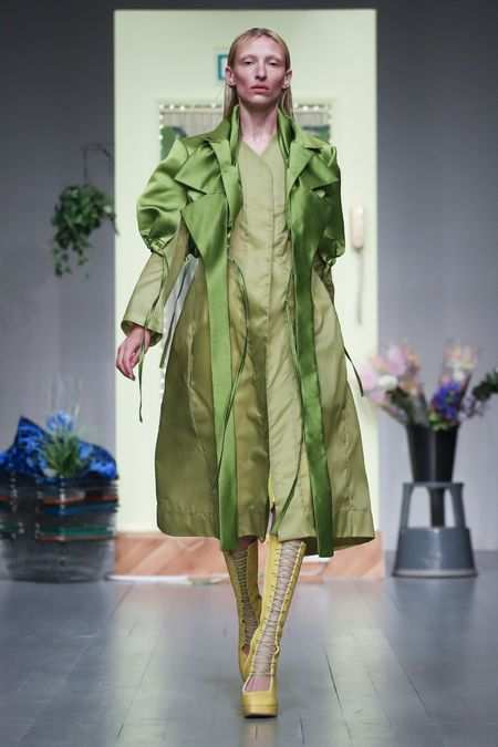 LFW: Richard Malone Spring Summer 2019 Collection 24
