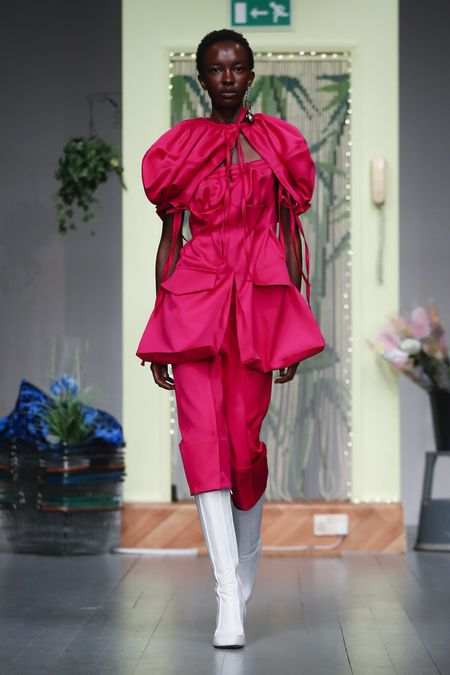 LFW: Richard Malone Spring Summer 2019 Collection 4