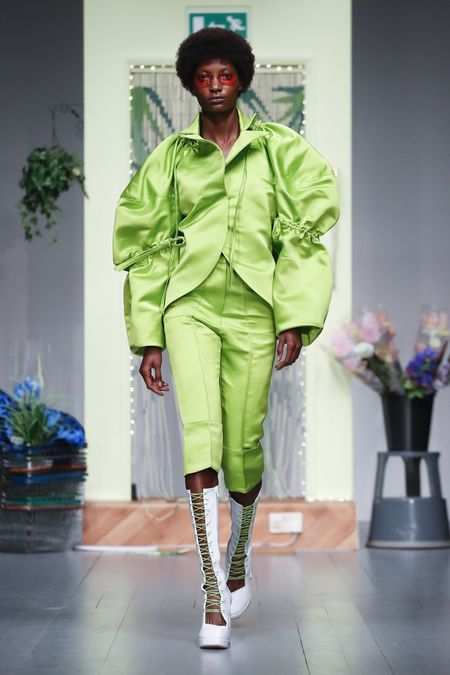 LFW: Richard Malone Spring Summer 2019 Collection 30