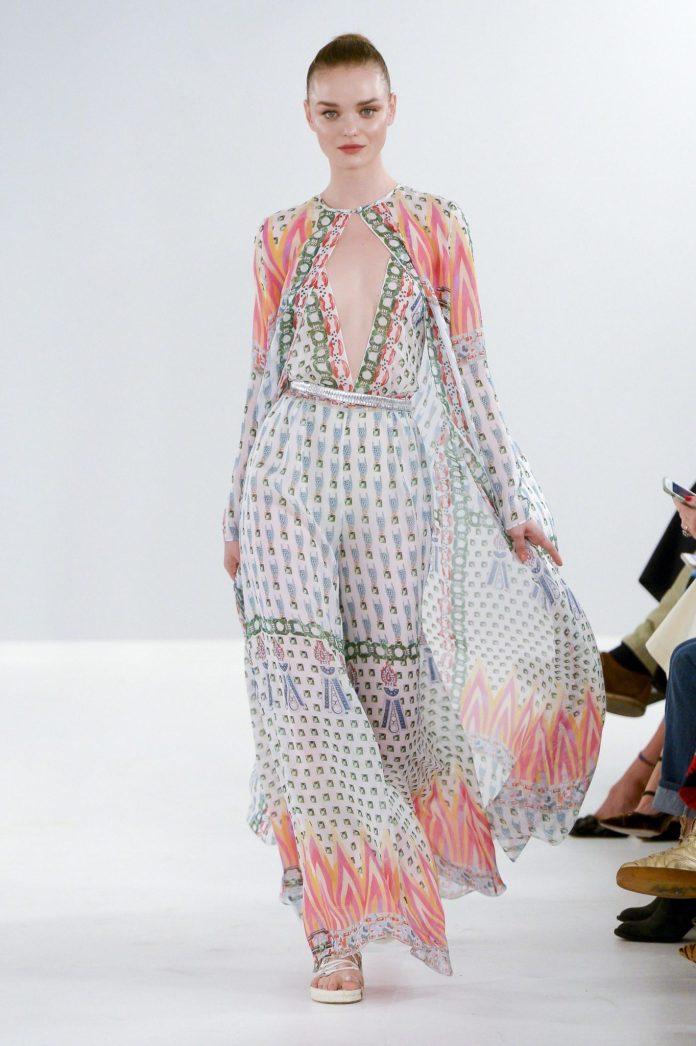 Bohemian! Temperley London Spring 2019 Collection At London Fashion Week 13