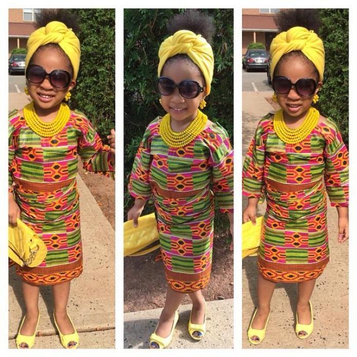 Ankara Styles: 7 Mind-Blowing Ankara Styles For Babies 4