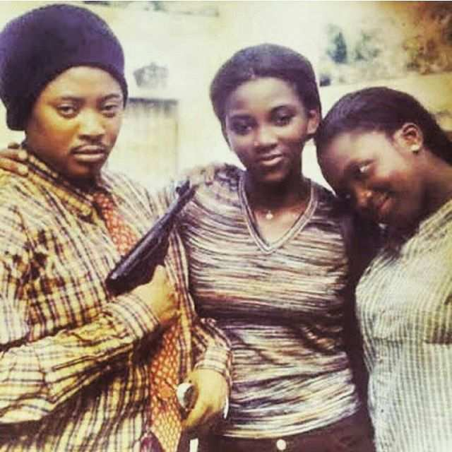 #TBT: 15 Epic Throwback Photos Of Our Favourite Nigerian Celebrities 9