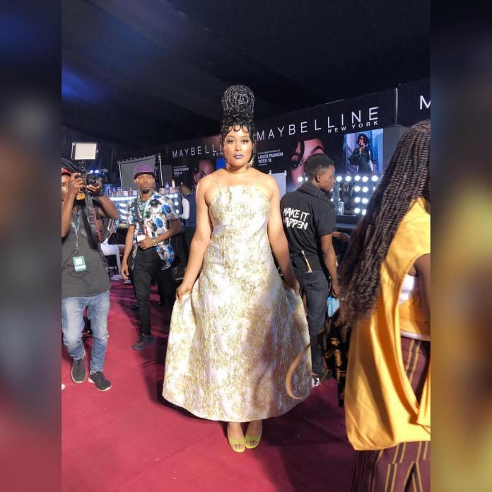 Adunni Ade Debuts New Hairstyle At Lagos Fashion Week 6