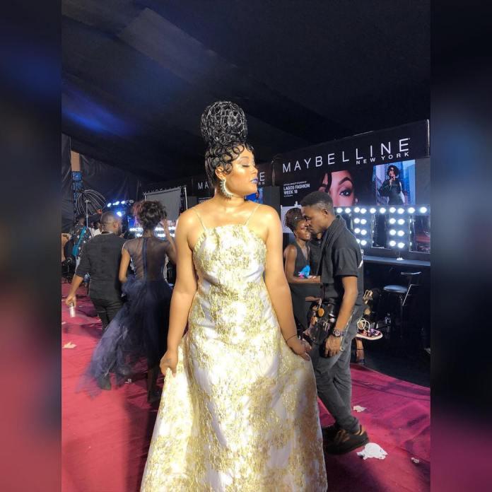 Adunni Ade Debuts New Hairstyle At Lagos Fashion Week 2