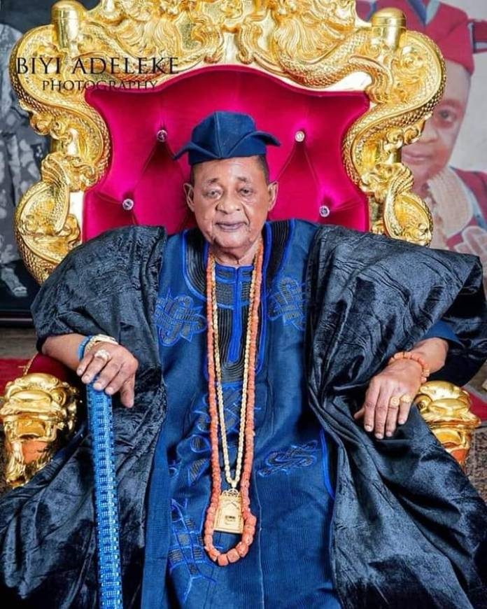 Alaafin Of Oyo Just Welcomes Third Set Of Twins This Year With Queen Anu 1